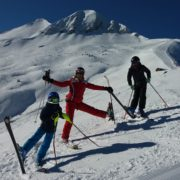 IB ski instructor private lessons saint gervais megeve