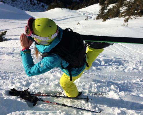 ingrid bott ski yoga
